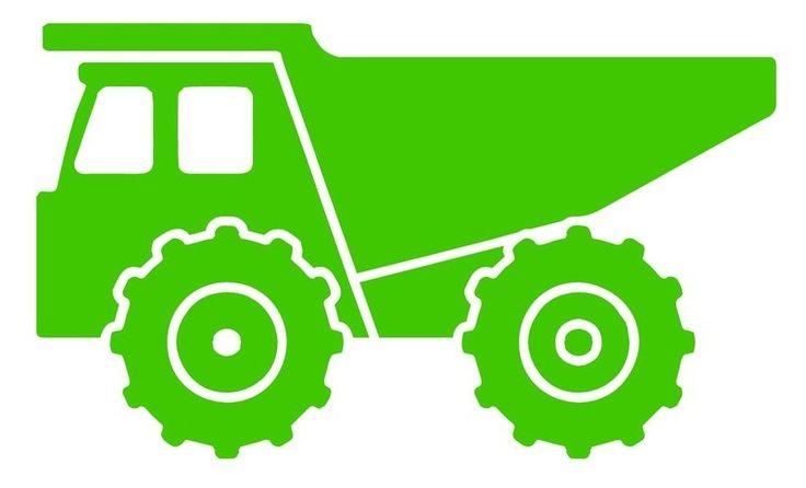 736x446 Dump Truck Clipart Silhouette