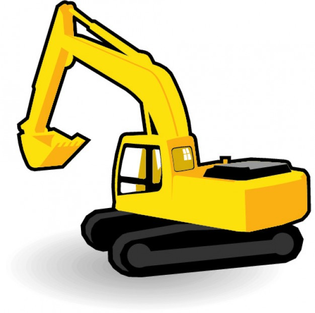 626x623 Excavator Vector Vectors, Photos And Psd Files Free Download