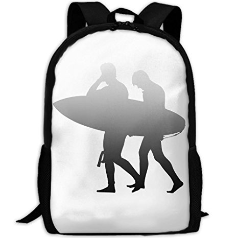 466x466 Surfer Clipart Silhouette Gary Double Shoulder