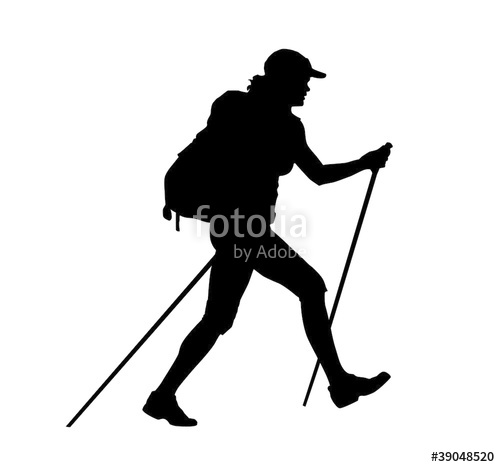 500x467 Backpacker Vector Illustration Stock Image And Royalty Free