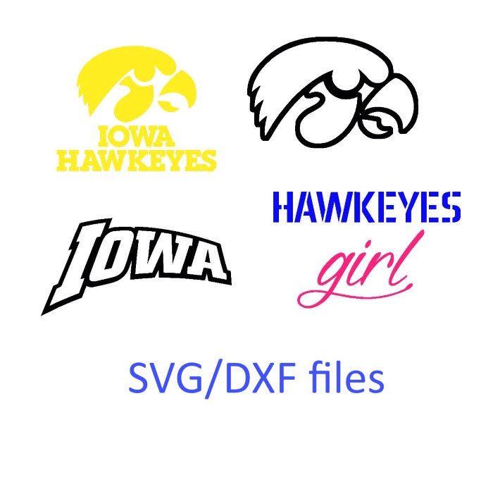 700x694 Iowa Hawkeyes Svg, Iowa Svg, Dxf Cut File For Silhouette Studio