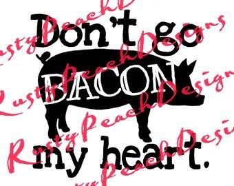 340x270 Funny Bacon Svg Etsy