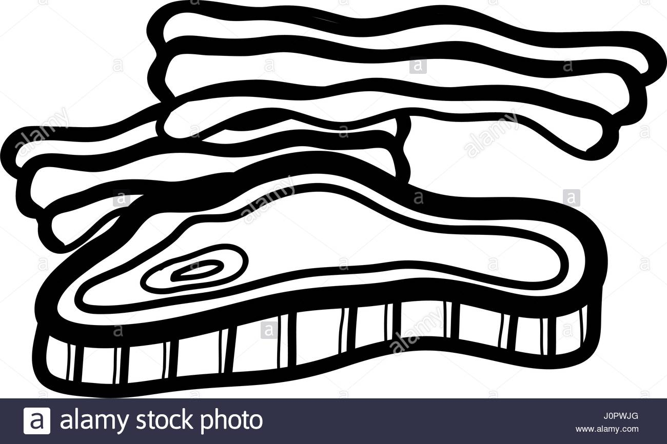 1300x866 Bacon Black And White Stock Photos Amp Images
