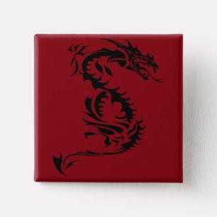 307x307 Custom Dragon Tattoo Badges Amp Pins Zazzle.co.uk