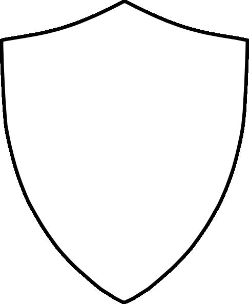 486x593 Badge Outline Clip Art