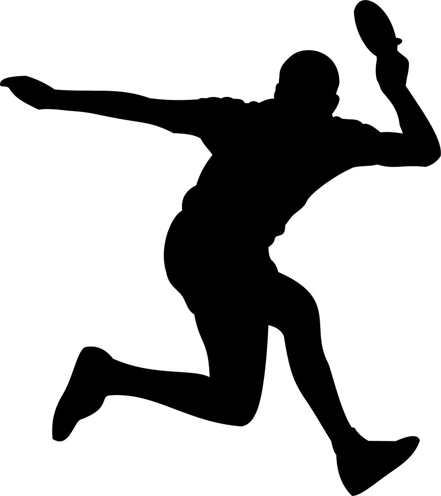909x1023 Moves clipart badminton