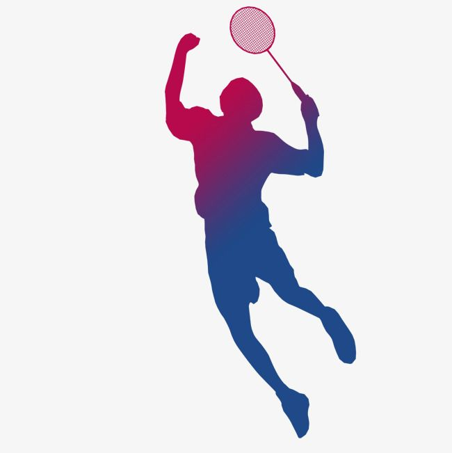 650x651 Playing Badminton Silhouette, Game, Badminton Player Silhouette