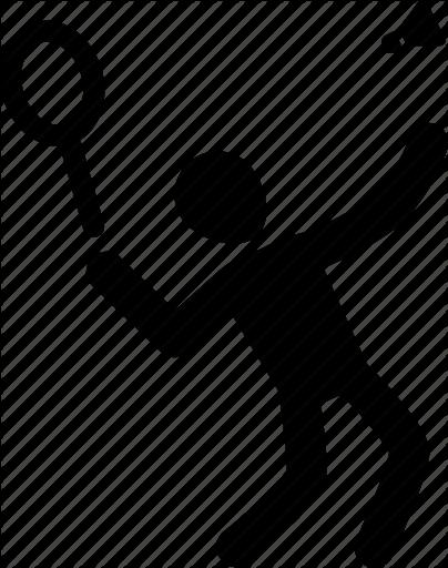 404x512 Athlete, Badminton, Exercise, Silhouette, Sport Icon Icon Search