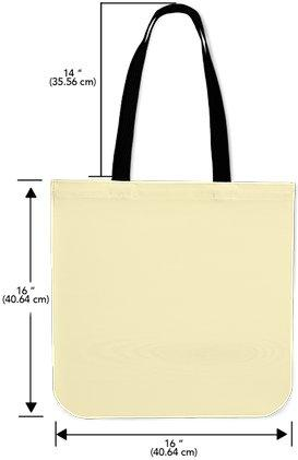 273x421 Silhouette Tote Bag
