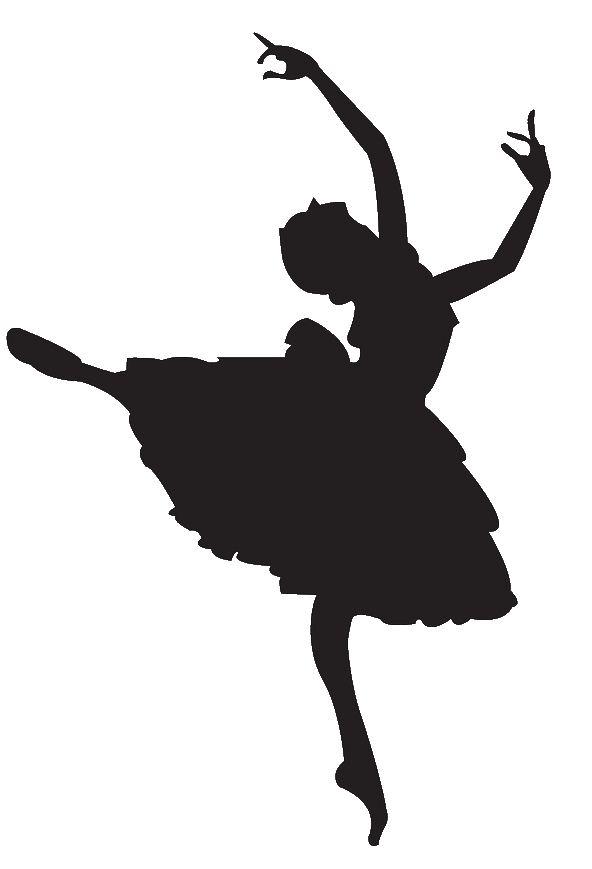 592x869 Free Ballet Dancer Silhouette, Hanslodge Clip Art Collection
