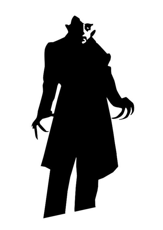 531x750 Coloring Page Nosferatu