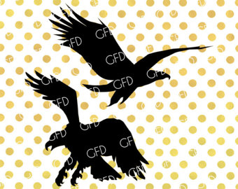 340x270 Eagle Silhouette Etsy