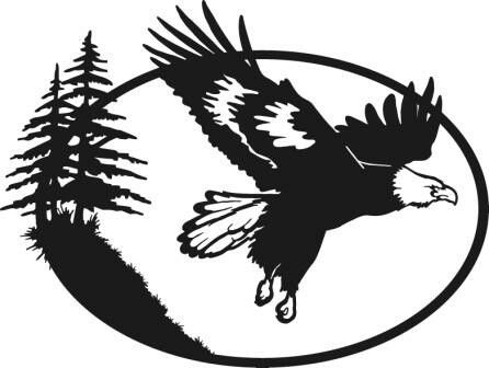 446x336 180 Best Eagle And Duck Silhouettes, Vectors, Clipart, Svg