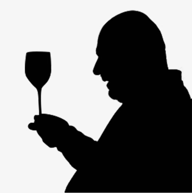 650x651 Drinking Bald Man, Drinkers, Bareheaded, Old People Png Image