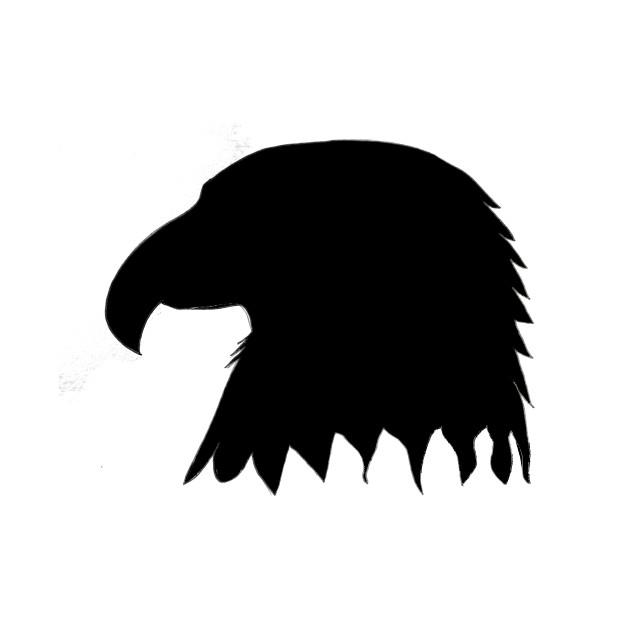 630x630 Eagle Head Silhouette