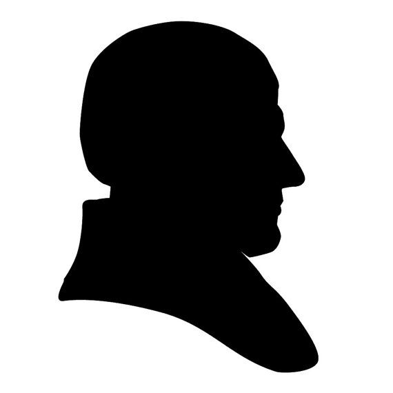 570x570 Presidents Clipart Silhouette
