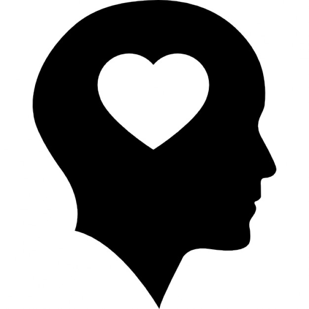 626x626 Bald Head With Heart Icons Free Download