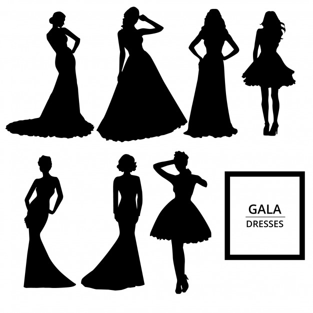 Ball Gown Silhouette At Getdrawings