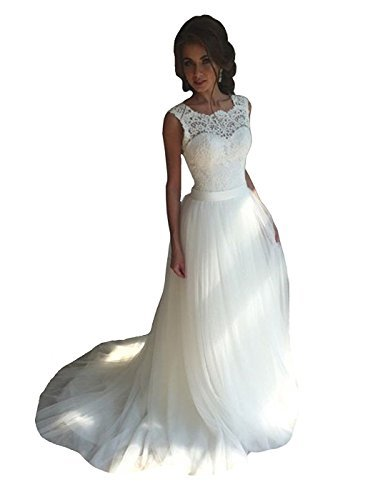 383x500 Wannisha Women's Noble A Line Sweetheart Long Bridal Gowns Bust