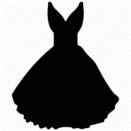 512x512 Ball Gown, Dress, Garment, Party Wear, Princess Dress, Women Icon
