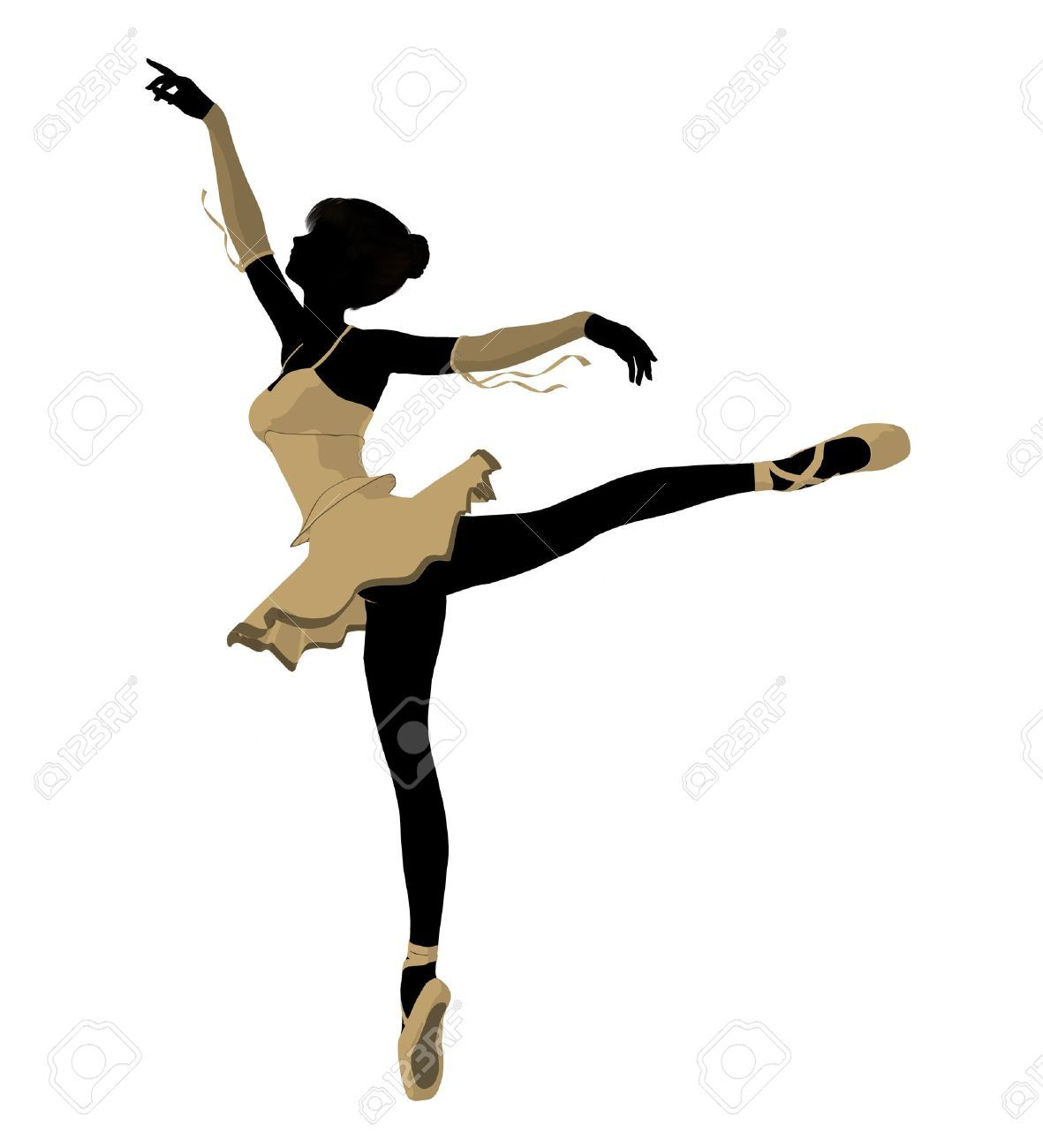1181x1300 Ballerina Silhouette Ballerina Silhouette On A White Background
