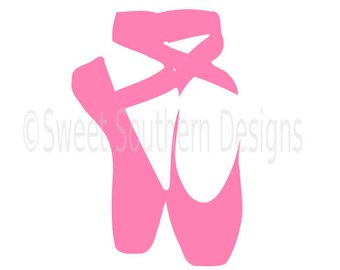 340x270 Ballet Shoes Svg Etsy