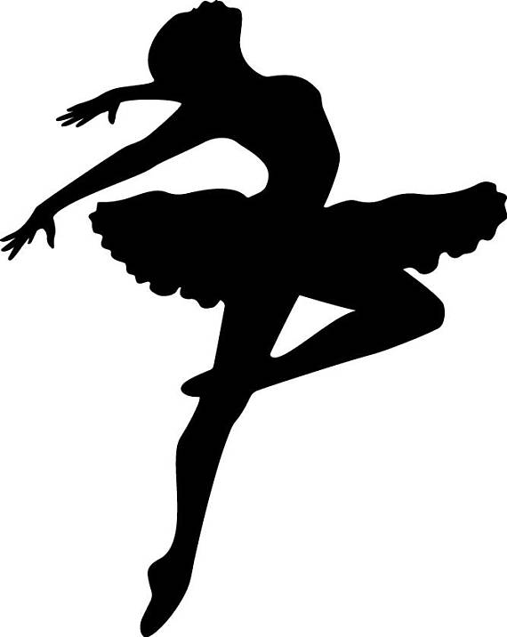 570x716 Ballet Svg