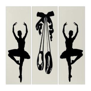 307x307 Ballerina Silhouette Art Amp Framed Artwork Zazzle