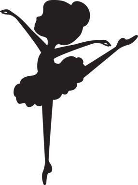 Ballerina Silhouette Clip Art