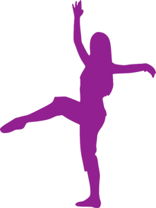Ballerina Silhouette Clipart