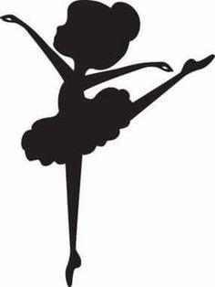 236x314 Siluta Bailarina En Negro