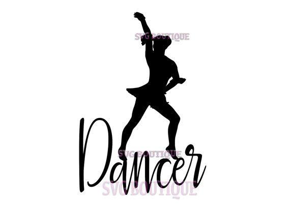 570x407 Dancer Svg File, Cut File, Dancer Quote, Cricut, Dance Clip Art