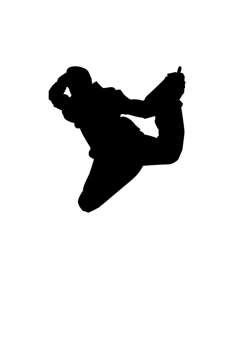803x1200 Dancer Clipart Silhouette Leap Clipart Panda
