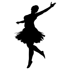300x300 High Fidelity Ballerina Silhouette Clipart, Cliparts Of High