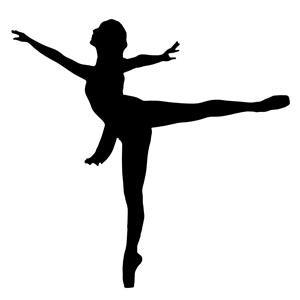 300x300 Ballet Dancer Silhouette Clipart, Cliparts Of Ballet Dancer