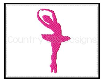 340x270 Ballerina Silhouette Etsy