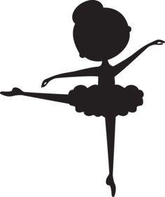 236x281 Siluta Bailarina En Negro