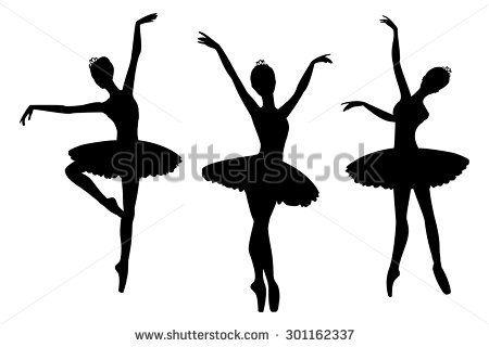 450x320 Deluxe Ballerina Silhouette