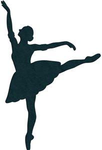 Ballerina Silhouette Template