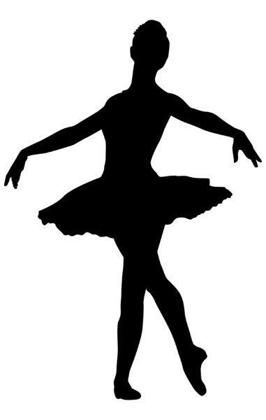 381x600 Fetching Silhouettes Of Ballet Dancers Best 25 Ballerina
