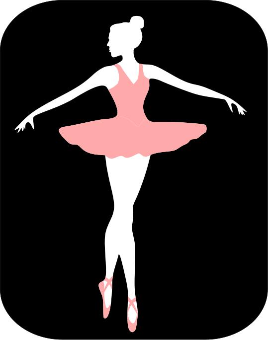 539x684 43 Ballerina Template, Ballet Tutu Dress Applique Pattern Pdf