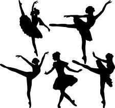 225x212 Ballerina Wall Stickers Ebay