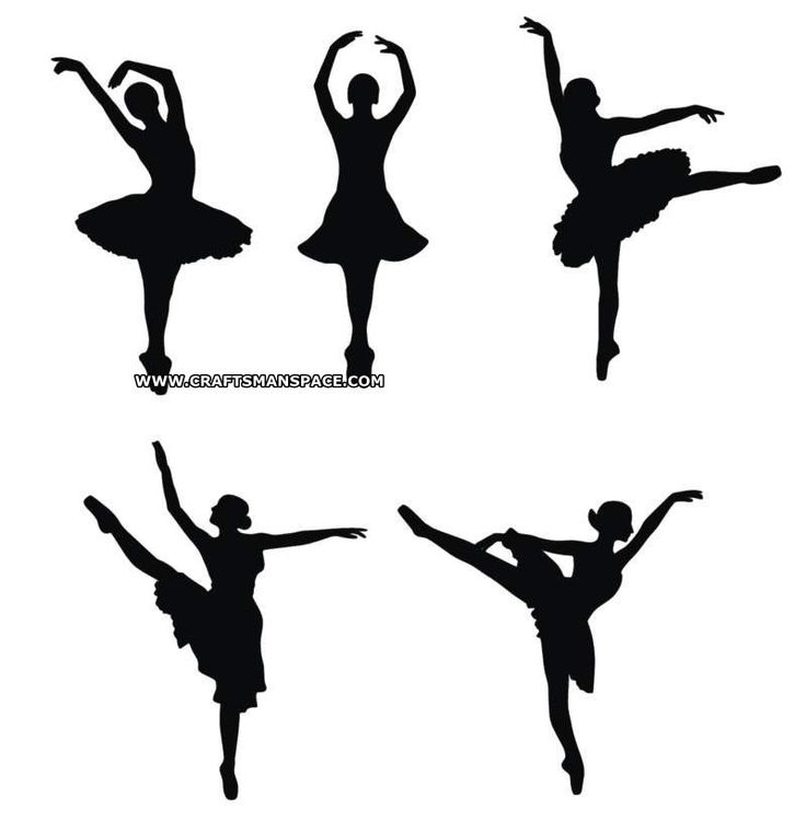 736x751 Ballerina Silhouette Patterns Signs Clipart Library