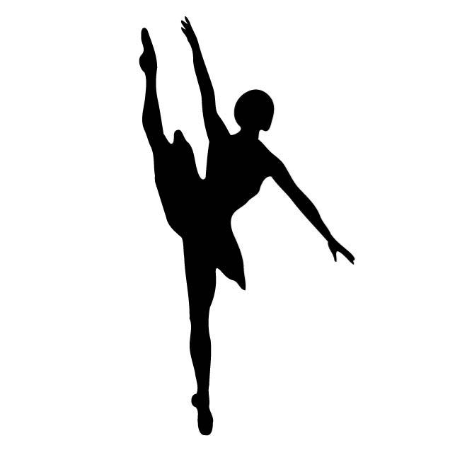 660x660 Ballet Dancer Silhouette