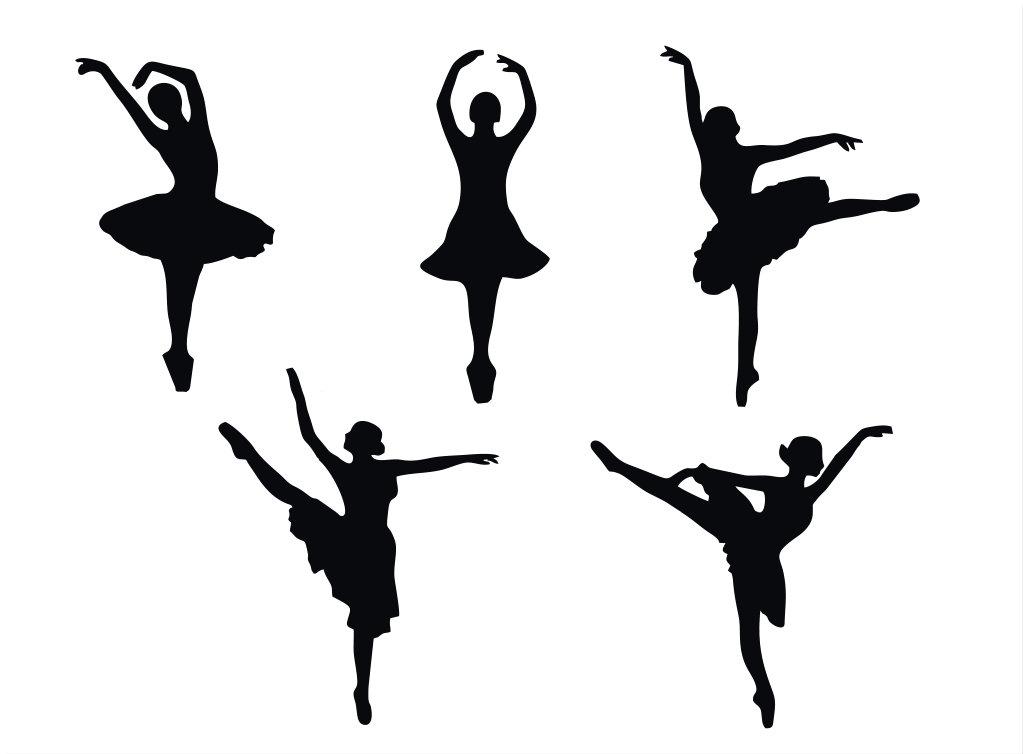 1023x754 Ballet Dancers Silhouette