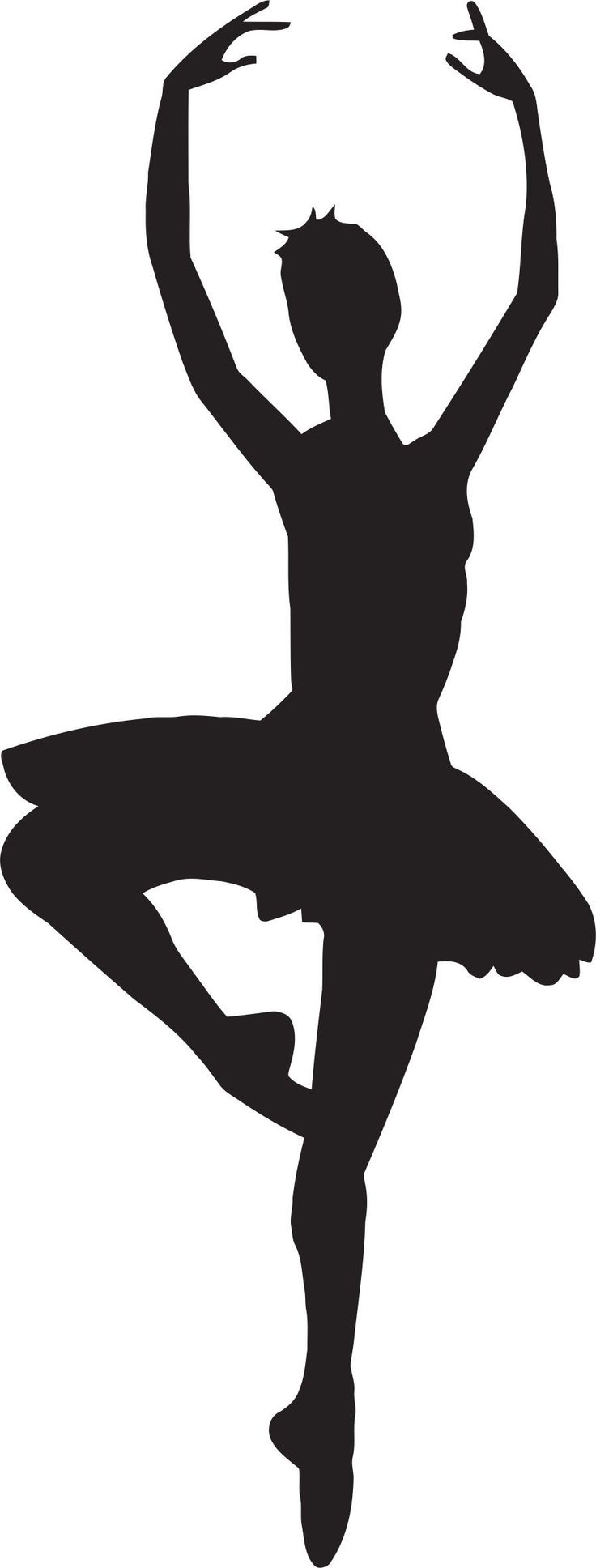Ballet Dancer Silhouette Clip Art