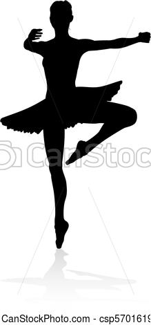 219x470 Dancing Ballet Dancer Silhouette. Ballet Dancer Silhouette Eps