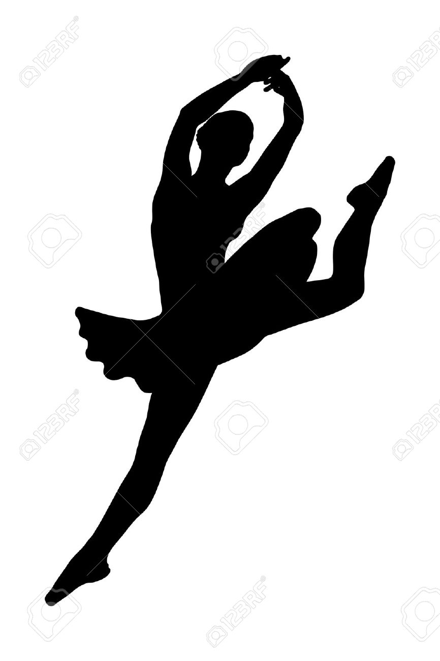866x1300 Jumping Silhouette Clipart