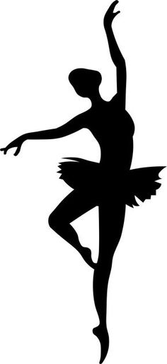 236x515 Woman Ballet Dance Silhouette Art Dance