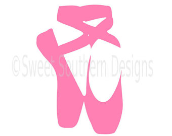 ballet shoe silhouette at getdrawings com free for personal use rh getdrawings com ballet shoes cartoon pictures ballet shoes cartoon pic